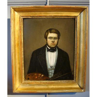Portrait d'Un Peintre