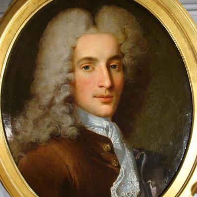 Portrait 18ème d'Un Gentilhomme