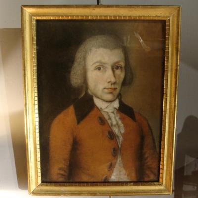 Portrait d'Homme, Pastel XVIIIème