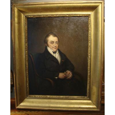 Portrait d'Homme XIXème