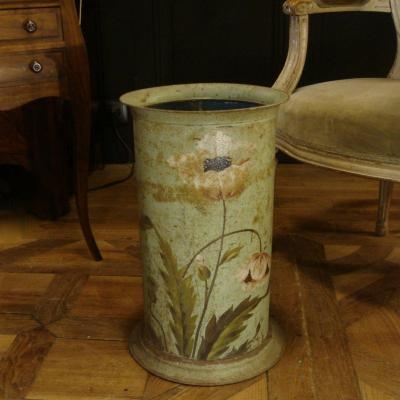 Umbrella Stand In Painted Sheet Metal