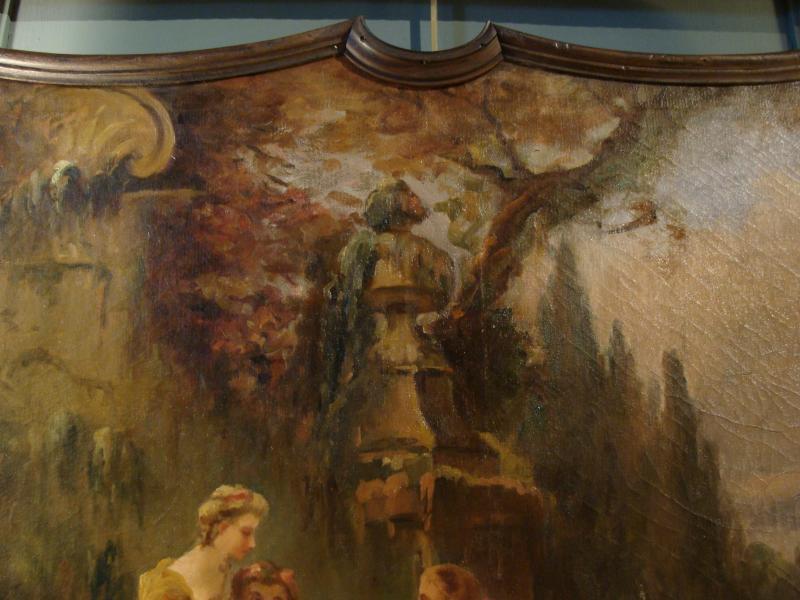 Scène Champêtre Début 19ème-photo-4
