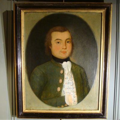 Portrait d'Un Gentilhomme 18ème