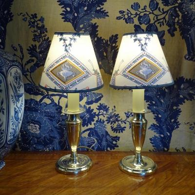 Small Pair Of Lamps