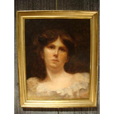 Portrait De Femme 1900