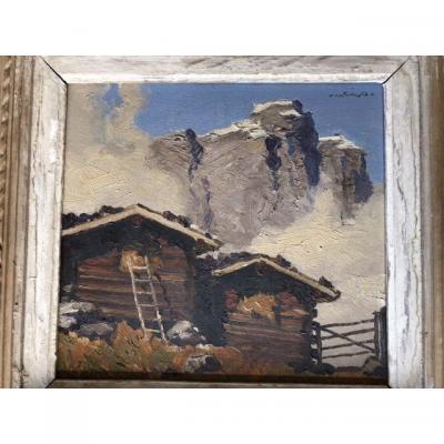 Josef Meng Tirol Heühütten 1950