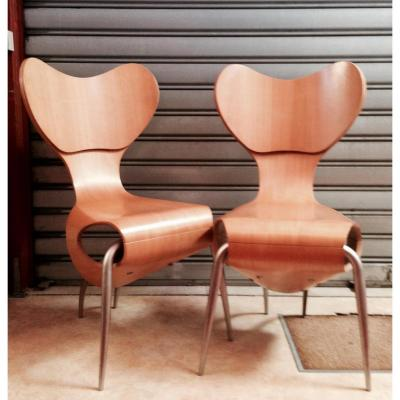 Chaises Empry 1993 ( 1 paire )