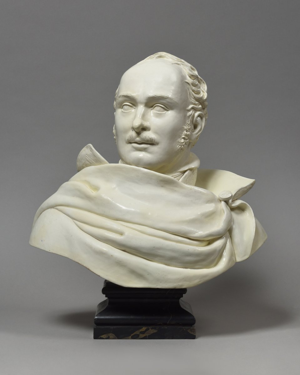 Earthenware Bust Of Eugène De Beauharnais