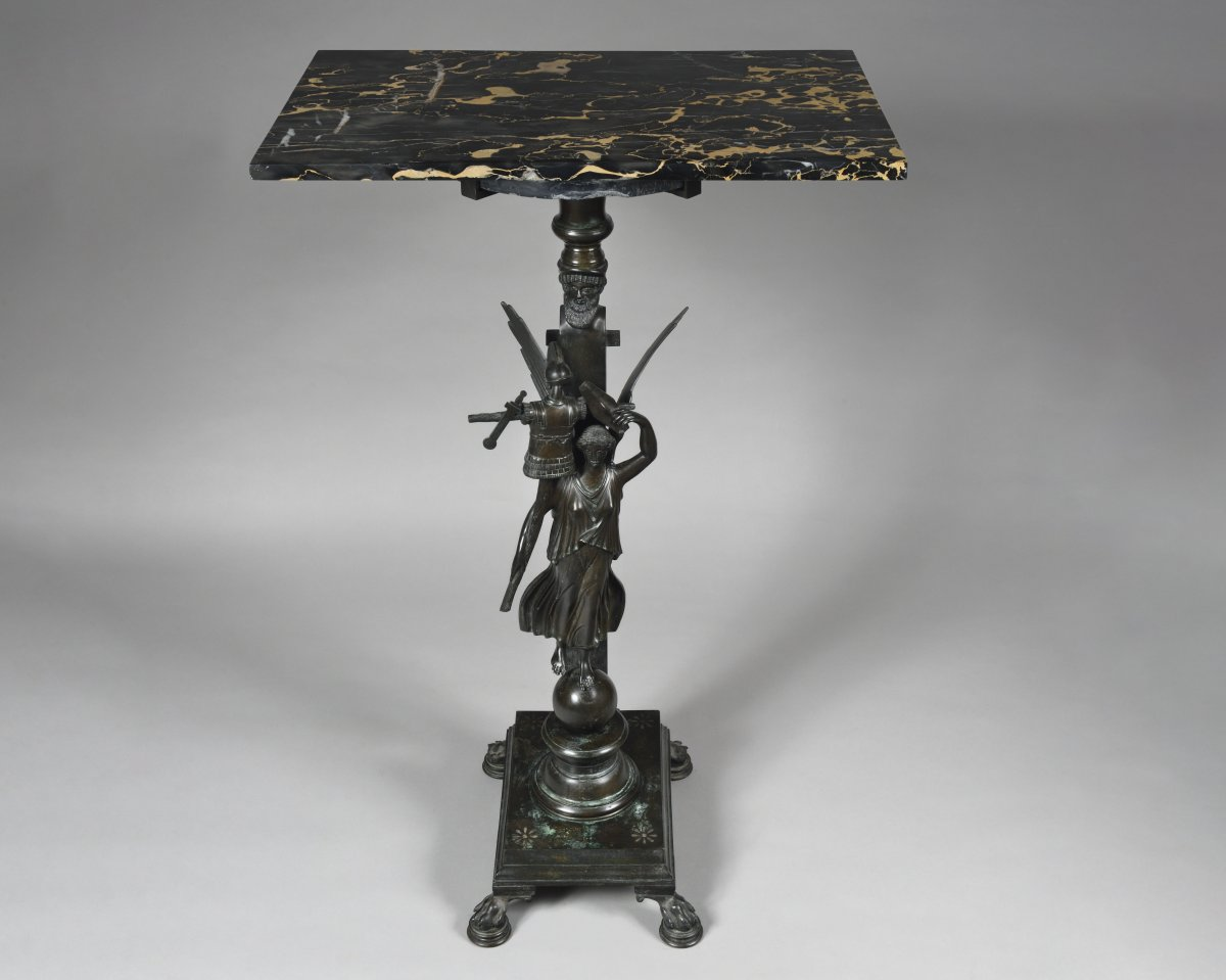 Antique Style Pedestal Table - 19th Century