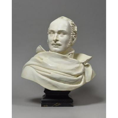 Buste En Faïence d'Eugène De Beauharnais