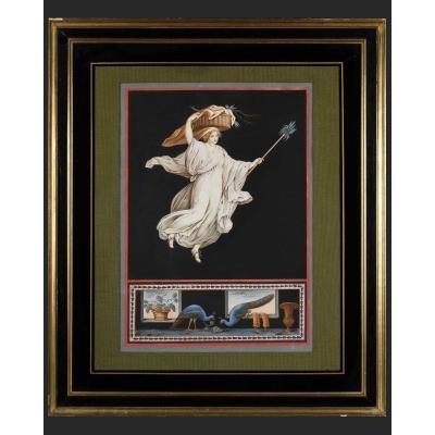 Michelangelo Maestri – Allégories Pompéiennes