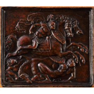 Galeazzo Mondella Dit « Moderno » (1467-1528) - Combat De Cavaliers