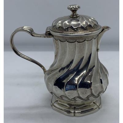 Creamer / Moutardier In Silver XVIII 1748
