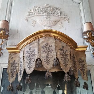 Dais De Lit Fin XVIIIème - Début XIXème