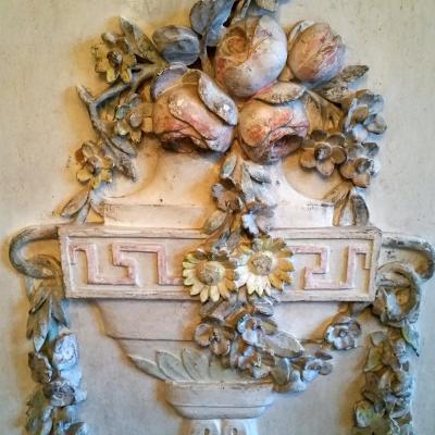 Trumeau De Boiserie Avec Miroir