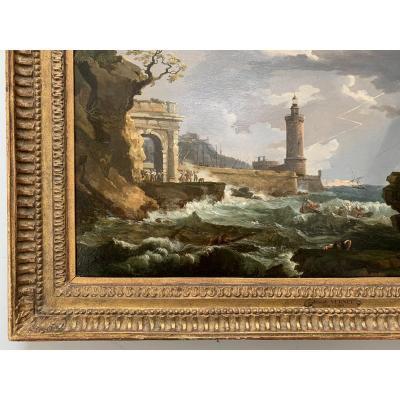 Claude Joseph Vernet 1714-1789 (suiveur De) Circa 1780