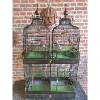 Grande Cage à Oiseaux Fin XIXeme
