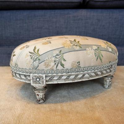 Tabouret De Pied XIXème Style Louis XVI