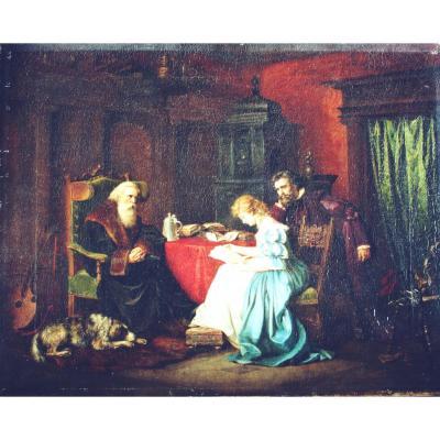 Master Of The 19th Century - Interior Scene - Museum Quality