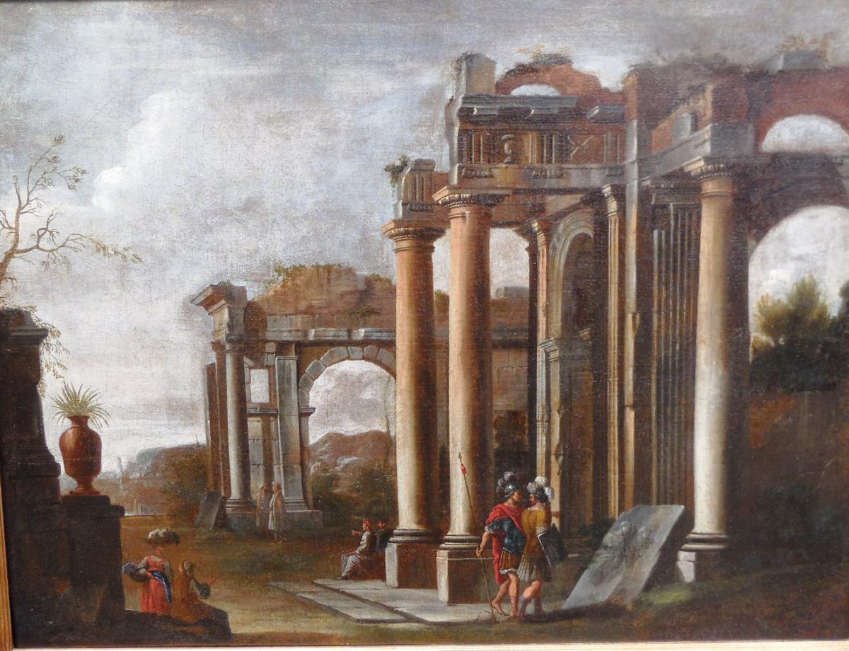 « Caprice D'architecture »   XVII Eme, Giovanni Ghisolfi-photo-2