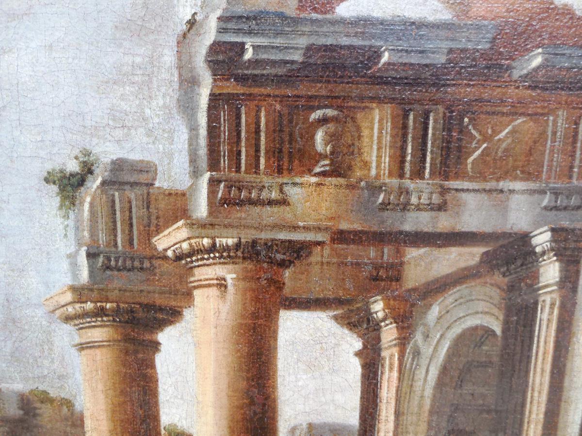 « Caprice D'architecture »   XVII Eme, Giovanni Ghisolfi-photo-3