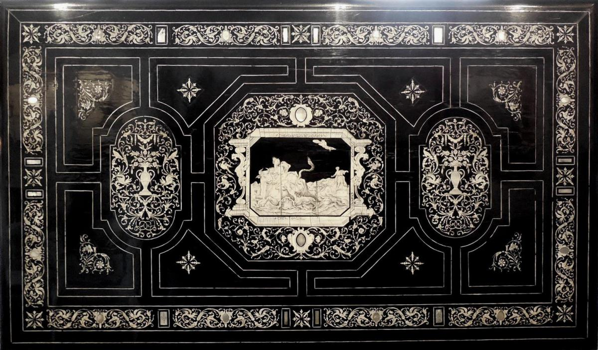 Table De Milieu, D'apparat Travail De Ferdinando Pogliani  XIXéme