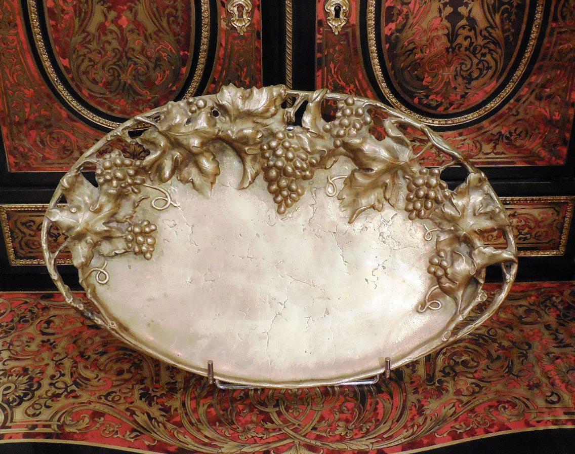 Plateau Vide-poches En Bronze XIXème