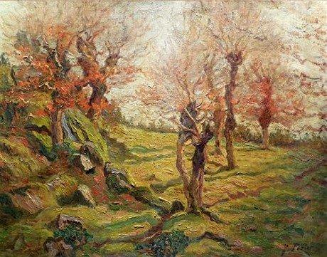 Pozier Jacinthe (1844-1915) Le Vallon De Saint Guénolé, Pont-aven 1911