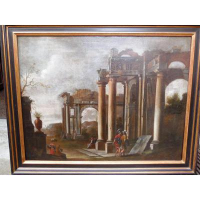 """architectural Caprice"" XVII Eme, Giovanni Ghidolfi"