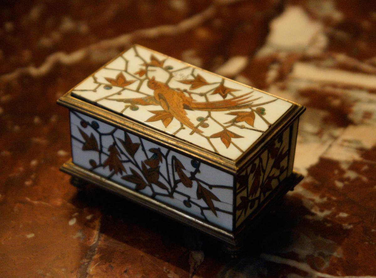 Petit coffret à bijoux - Duvinage & Maison Giroux 1880