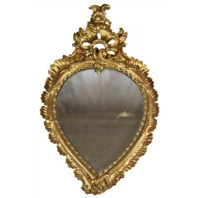 Italian Rococo Mirror Of The Eighteenth Century