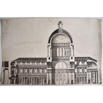 Large Basilica Project Around 1750-1770