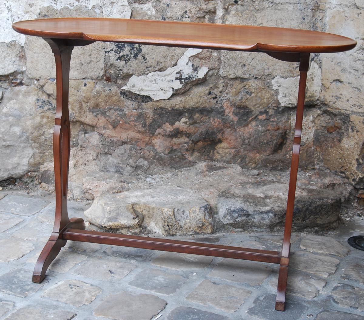 Table Rognon En Acajou Epoque Louis XVI