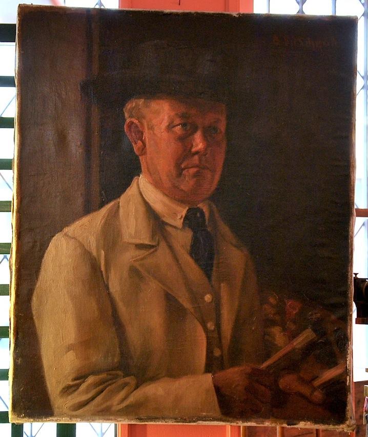 Self-portrait Of 19th Century German Painter-photo-2