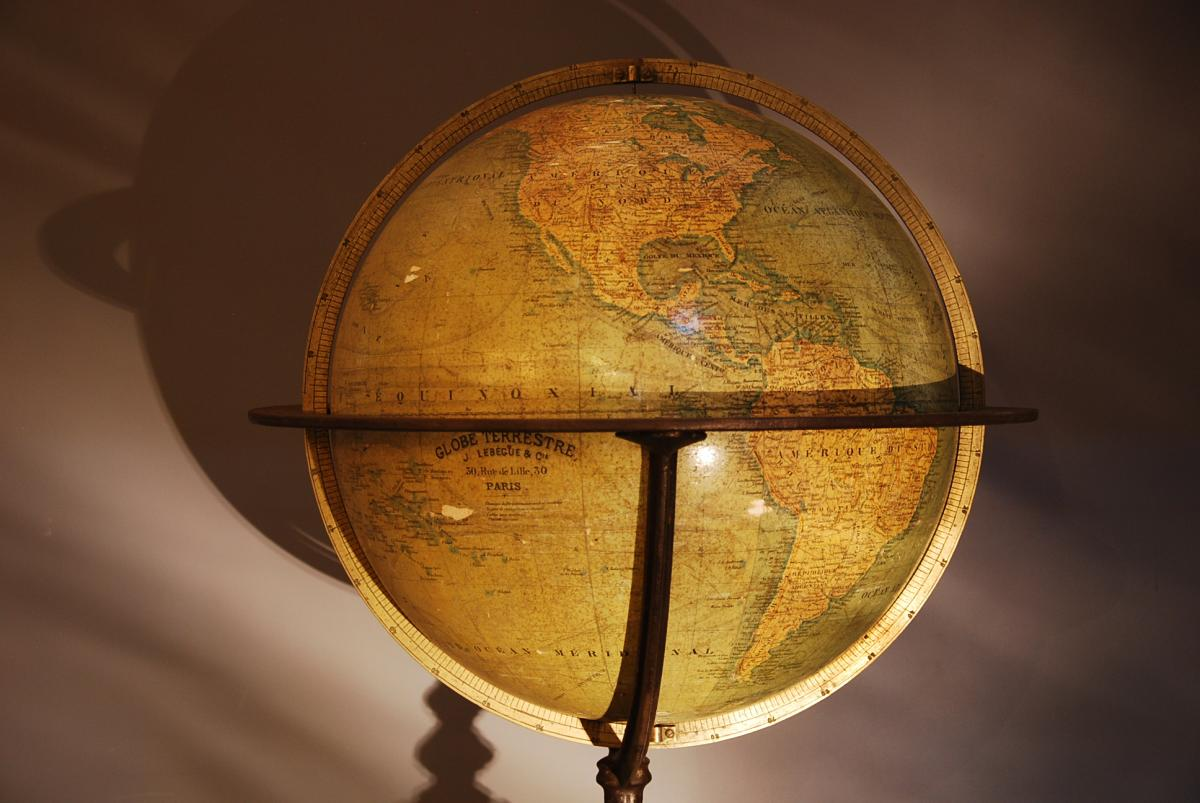 World Globe Globe J Lebegue Et Cie-photo-2