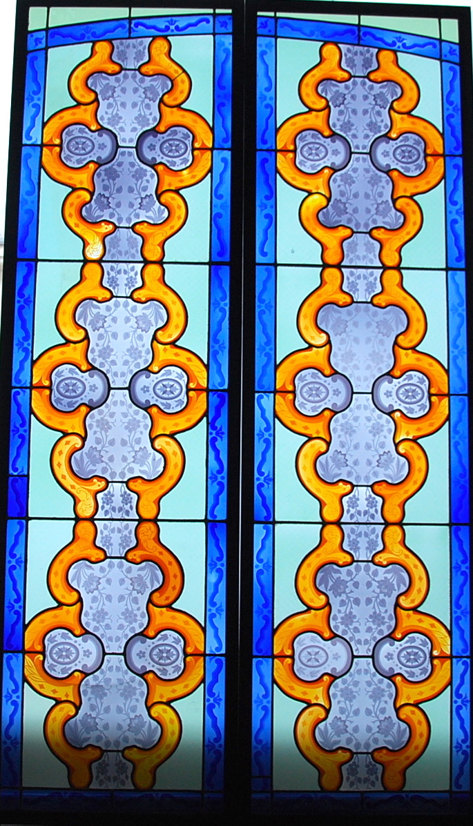 Stained Glass With Acid Ref V70