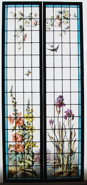Stained Glass Windows Tremieres Et Iris