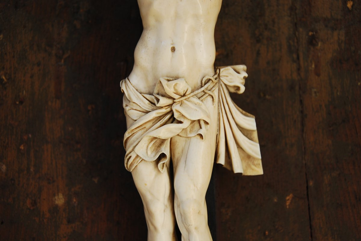 Christ En Ivoire Grande Taille 40cm -photo-3
