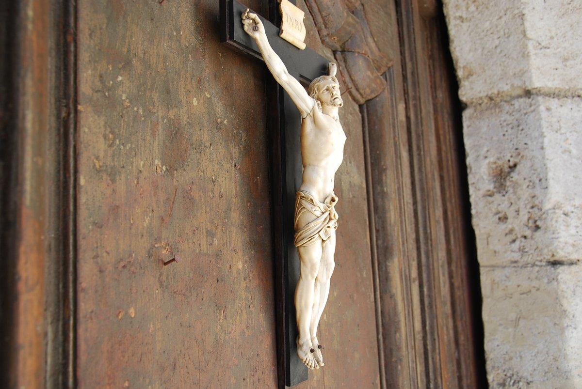 Christ En Ivoire Grande Taille 40cm -photo-5