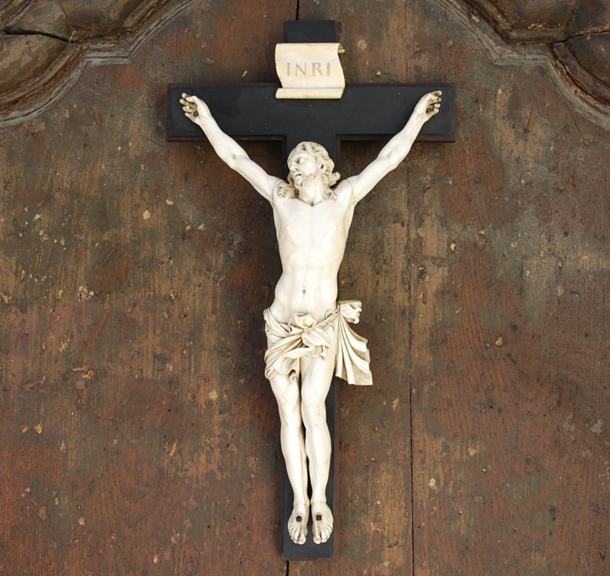 Christ En Ivoire Grande Taille 40cm