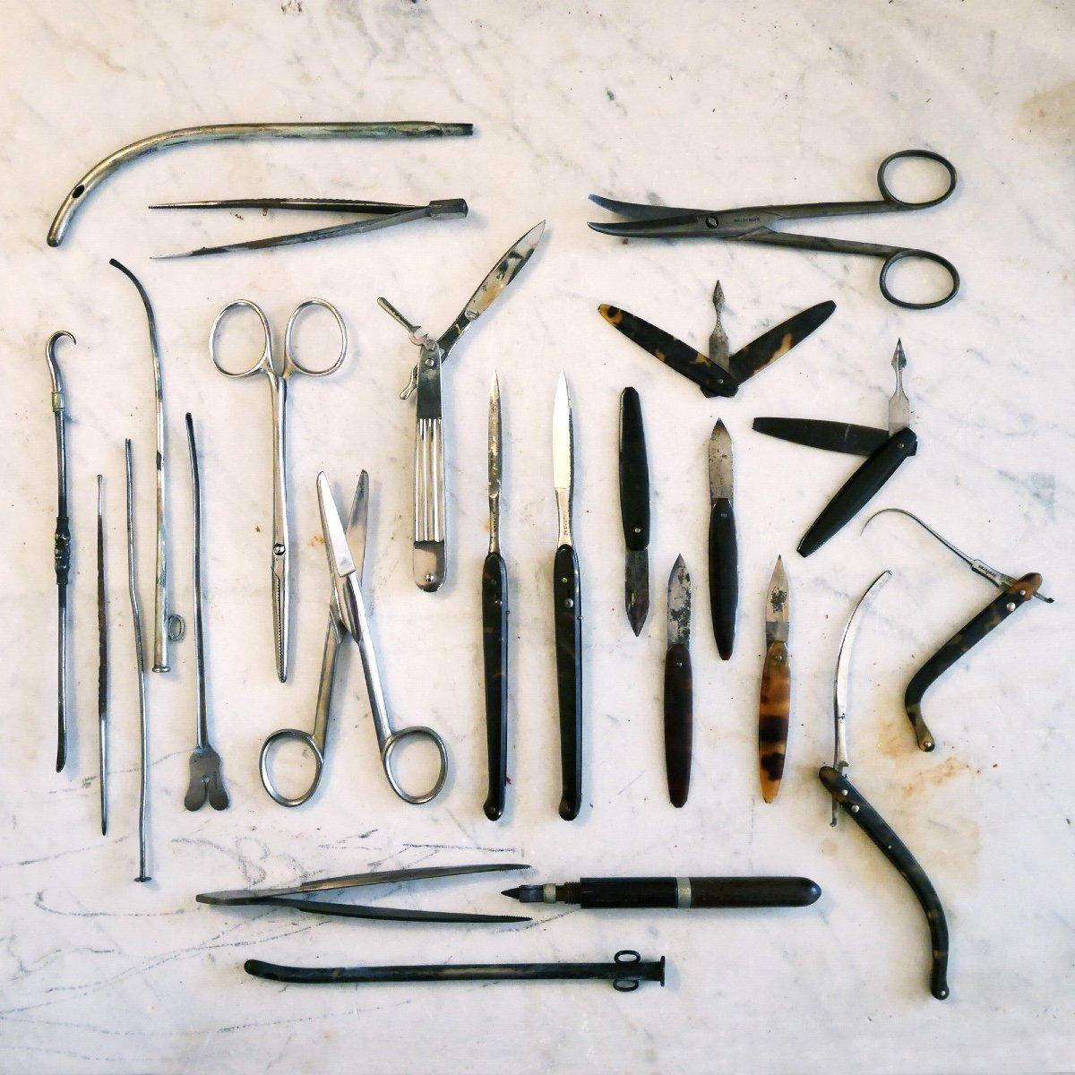 Trousse De Chirurgien XIXème marquée Charrière-photo-1
