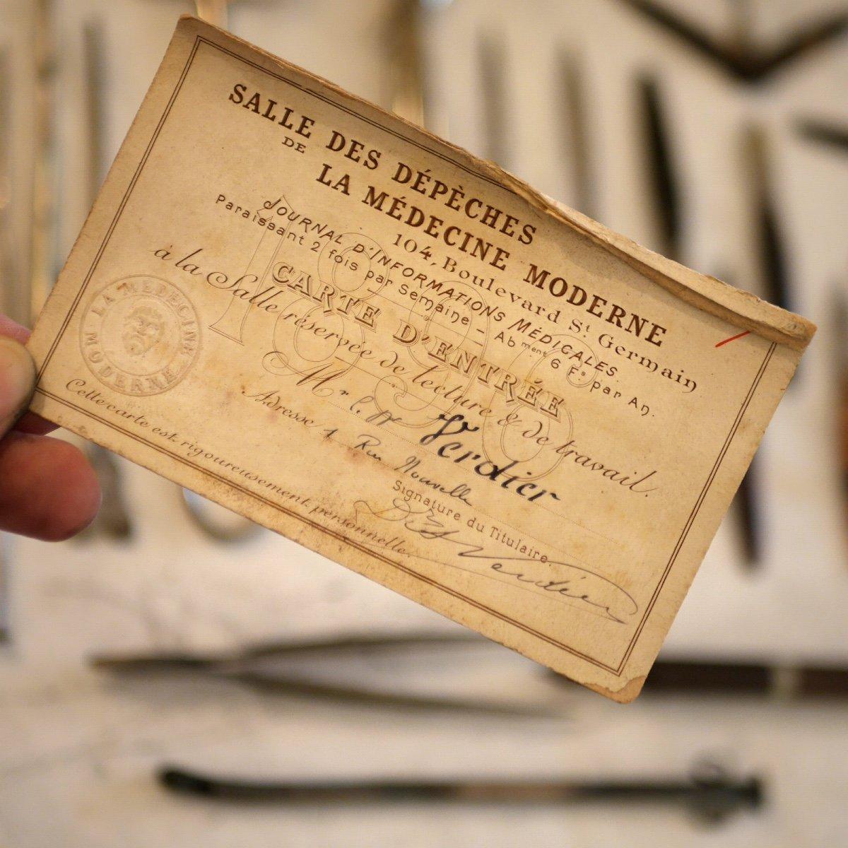 Trousse De Chirurgien XIXème marquée Charrière-photo-2