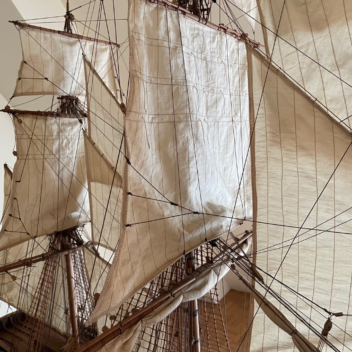 Grande maquette du vaisseau « Le Superbe » (1782-1795)-photo-3