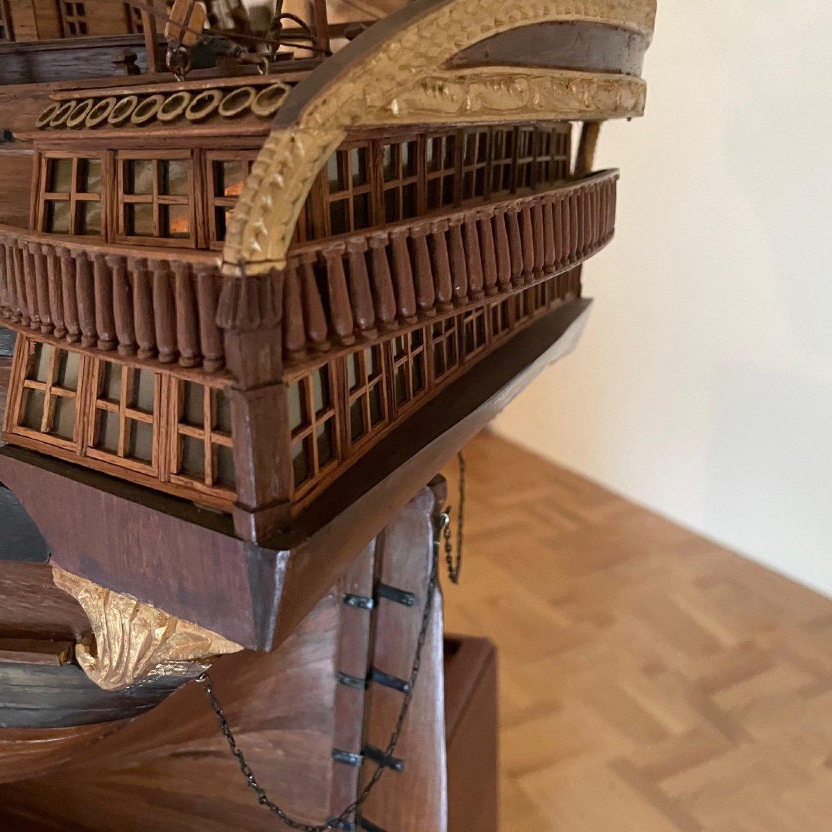 Grande maquette du vaisseau « Le Superbe » (1782-1795)-photo-7