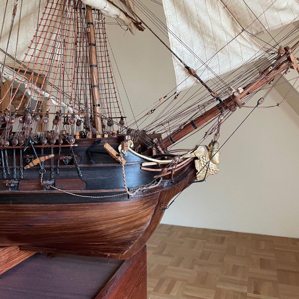 Grande maquette du vaisseau « Le Superbe » (1782-1795)-photo-8