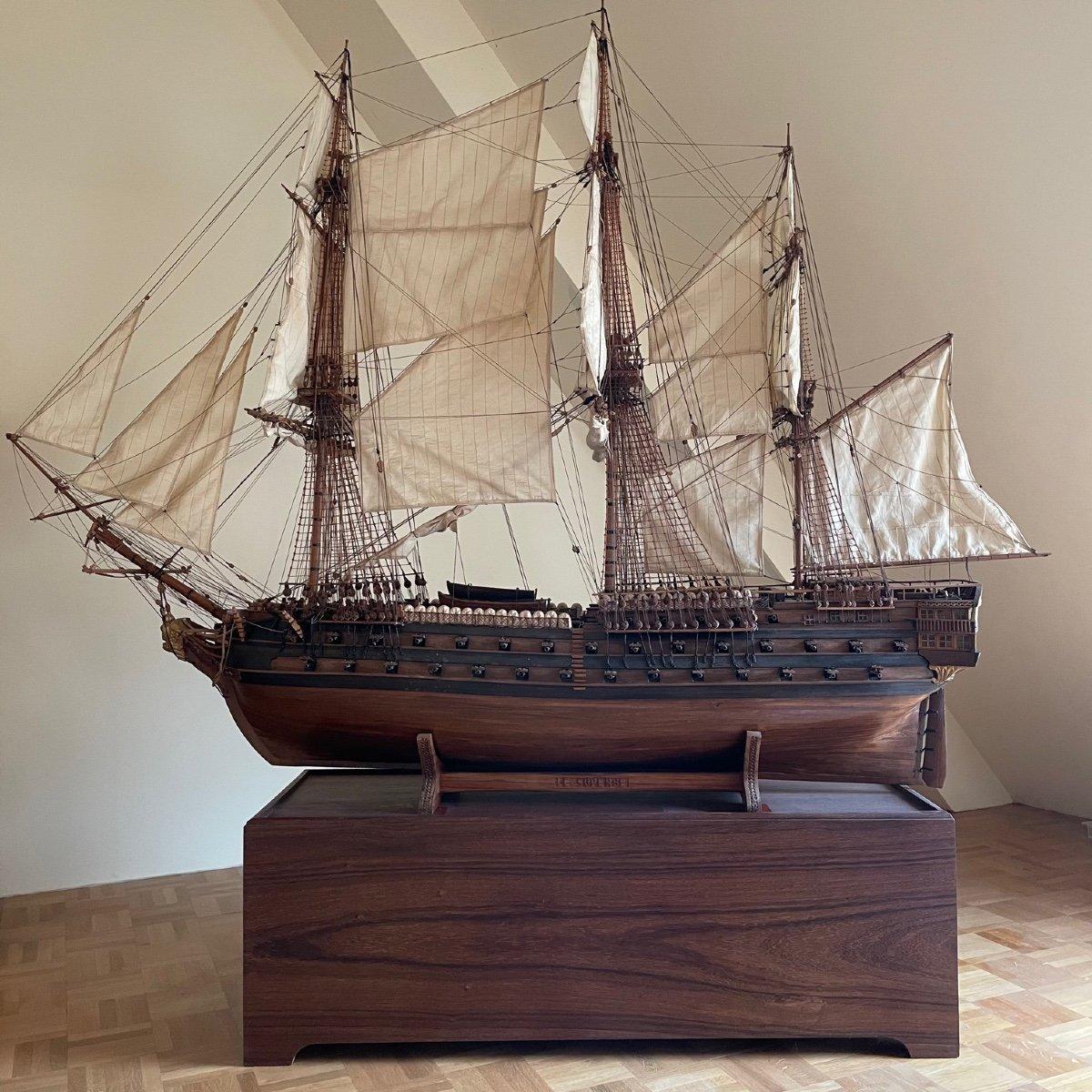 Grande maquette du vaisseau « Le Superbe » (1782-1795)