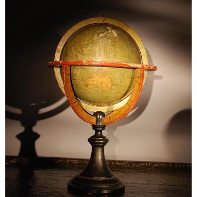 World Map Delamarche