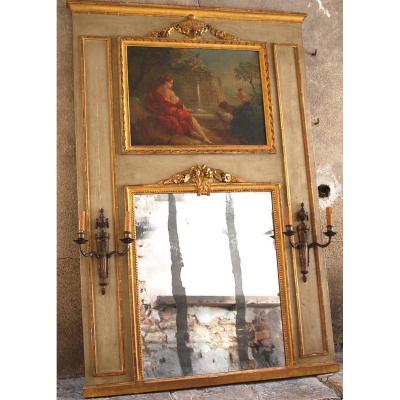 Trumeau Epoque Louis XVI H170cm L116cm