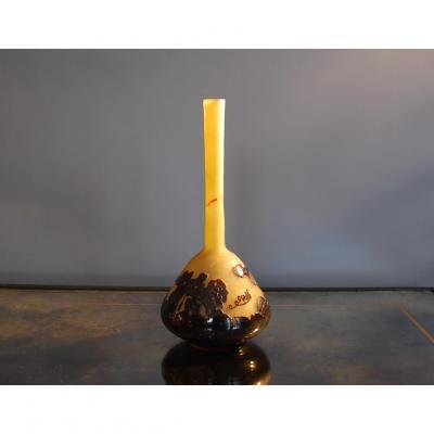 Vase Gallé Soliflore