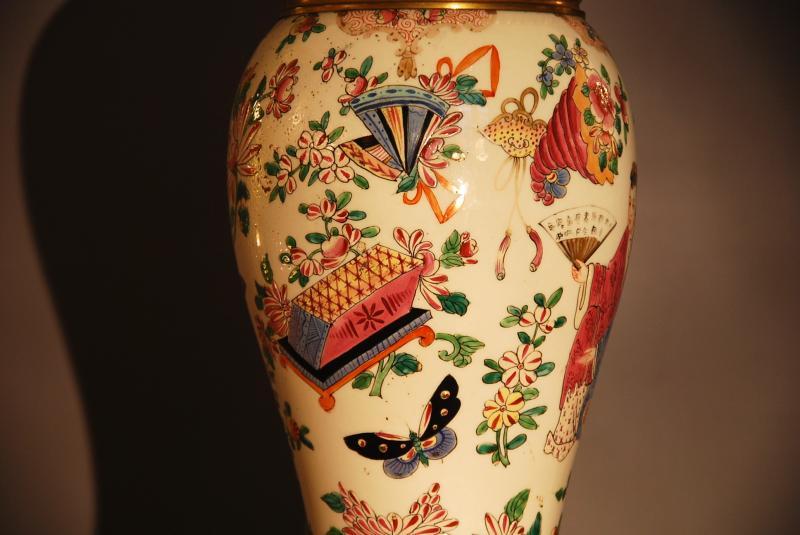 Chinese Couple Vase Lamp-photo-4